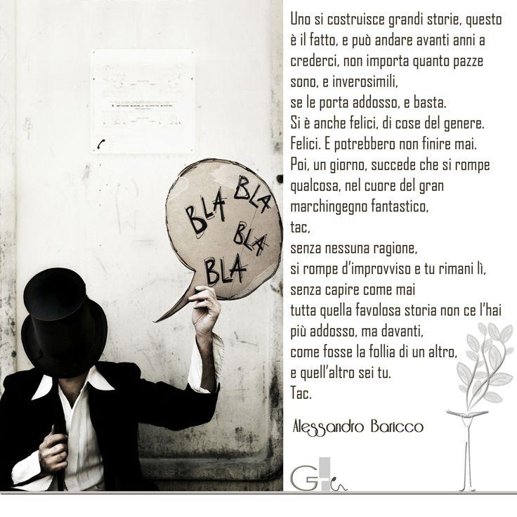 #citazioni: Alessandro Baricco | #book #reading #quote | @laikag | GAIA TELESCA |