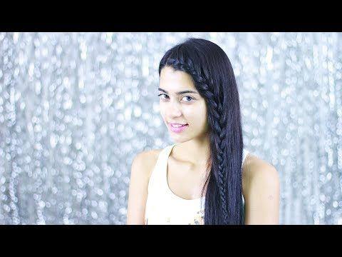 Uzun Saçlar İçin Açık Saç Modeli - Ön Örgü Saç Modeli - YouTube