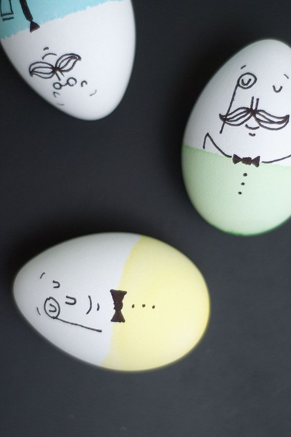 Humpty Dumpty Easter eggs! They're cute, and great for combining story time with craft time.