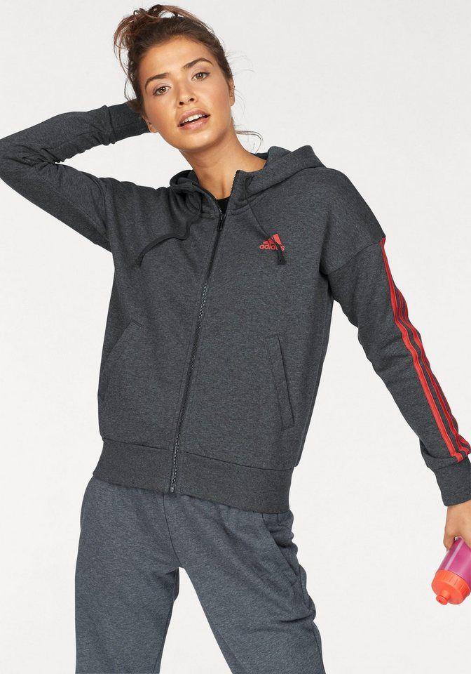 adidas Performance Kapuzenpullover »Essentials 3 Stripes« online kaufen | OTTO