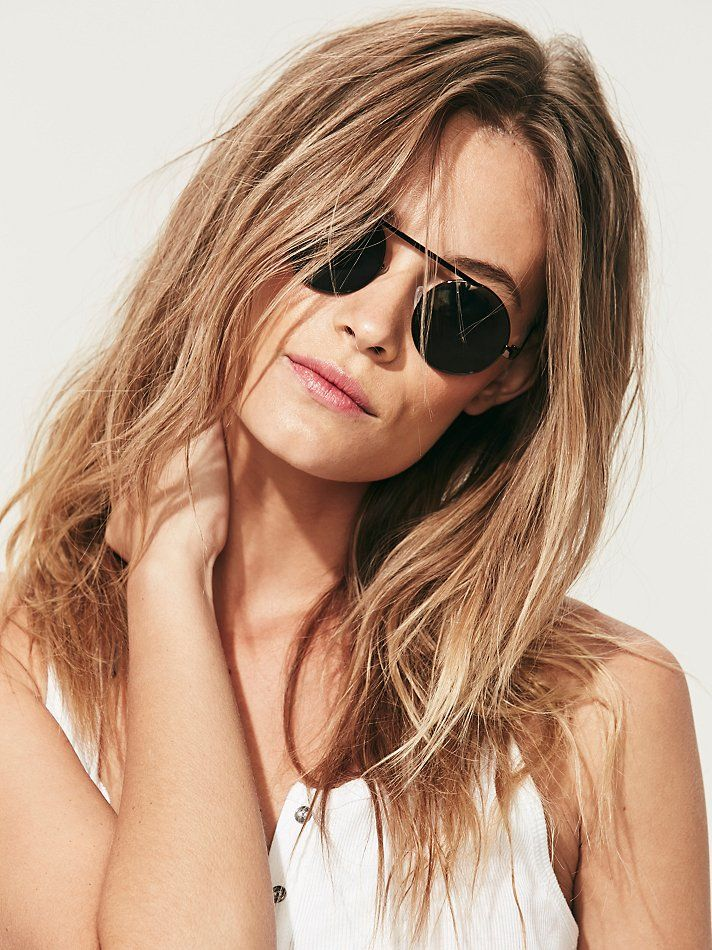 Free People Rounders Sunglass at Free People Clothing Boutique
