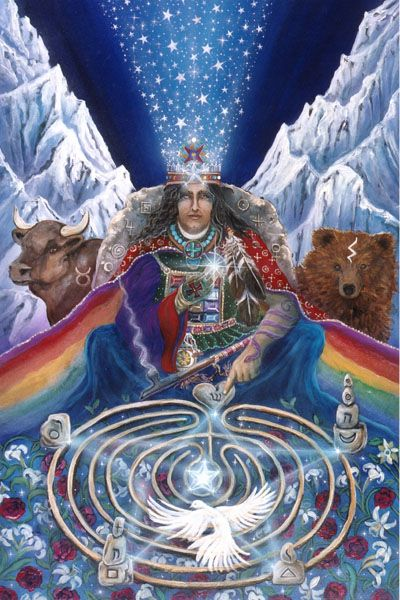5 Hierophant - Star of Magi is the 17/8 (karmic debt restored) vibration of 8.  Finding one's destiny, following your own Star.  Hope  Inspiration  Generosity  Serenity  Talented  Gifted