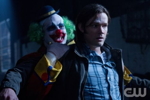 """""""Plucky Pennywhistle's Magical Menagerie"""" - Jared Padalecki: Pennywhistle Magic, Poor Sammy, Jared Padalecki, Jaredpadalecki Clowns, Hate Clowns, Samwinchest Jaredpadalecki, Magic Menagerie, Pennywhistle'S Magic, Plucky Pennywhistle"""