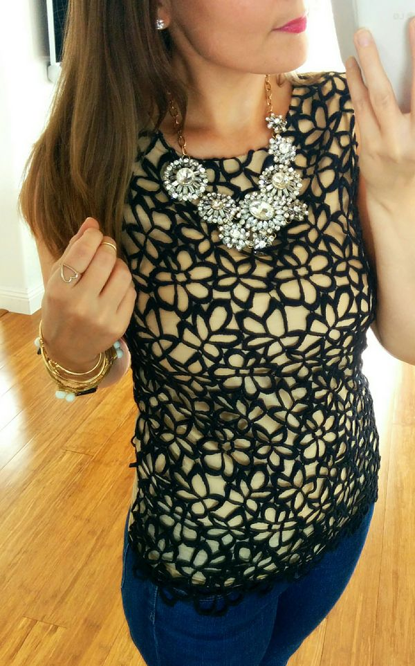 Lace dress neiman marcus rings
