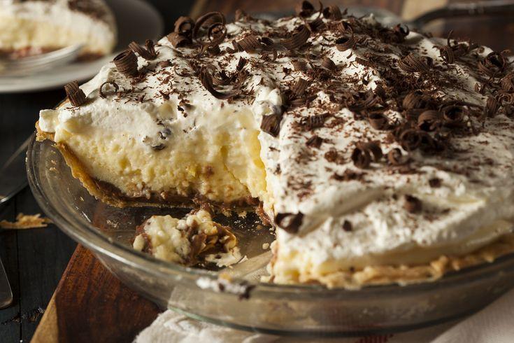 Plăcinta cu cremă de cocos   Retete culinare - Romanesti si din Bucataria internationala
