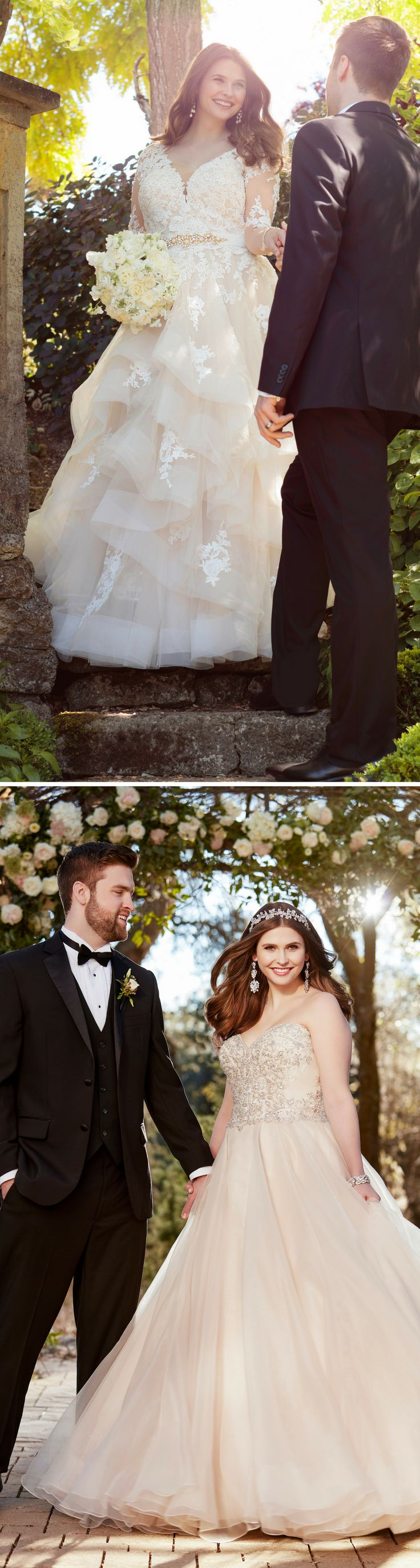 From romantic A-line wedding gowns to fabulous fit and flare bridal styles, the plus size wedding dress of your dreams awaits - no matter your size!
