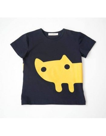 Carbon Soldier - YmamaY | My Kitten Went to London - Tibby Tee - Navy