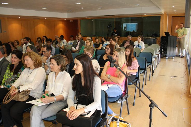 Captivated audiences at the BeatBullying Portugal launch event.