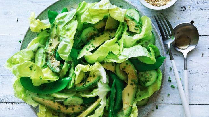 Japanese green avocado salad
