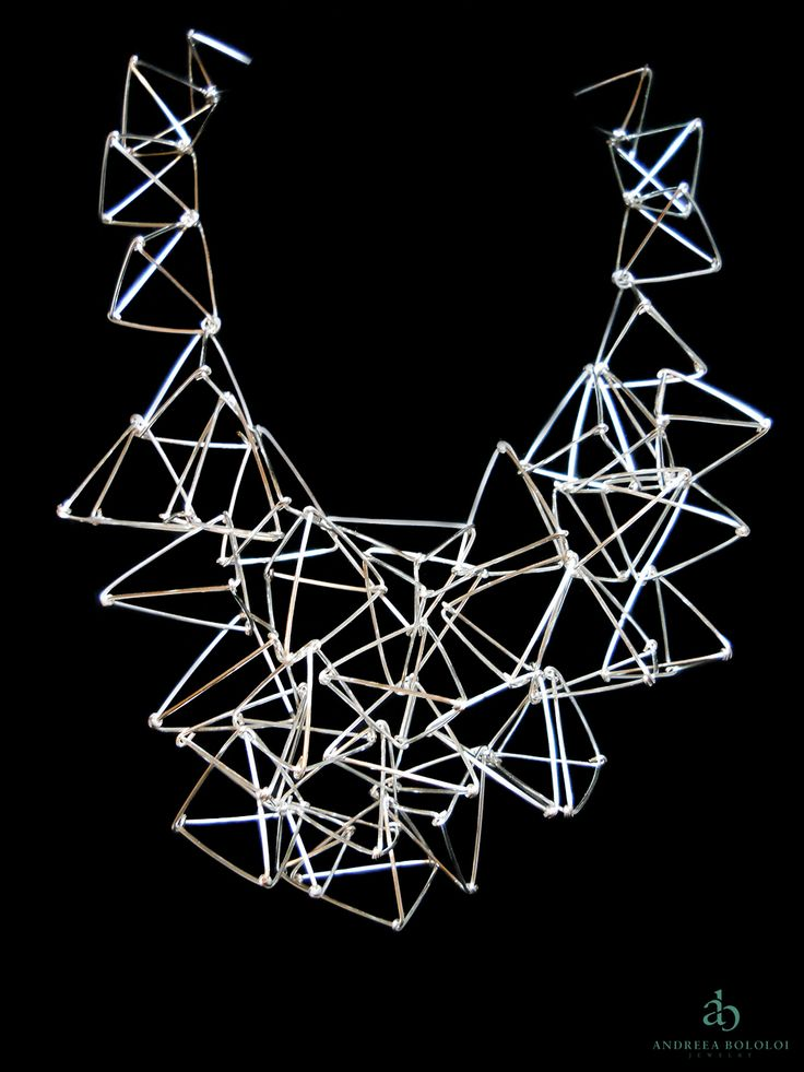 "Andreea Bololoi Jewelry: ""Interconnected"" Necklace 
