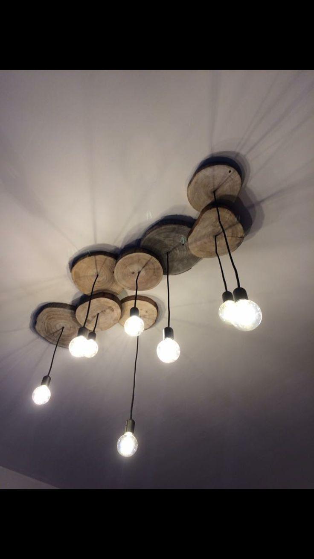Magnifique suspension rondins de bois