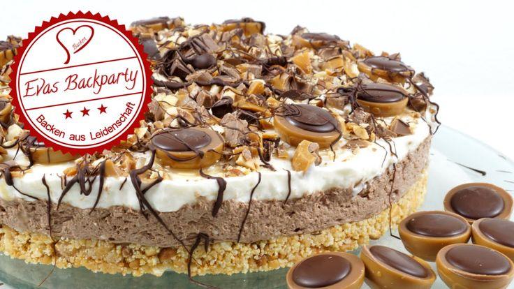 cremige Toffifee - Torte / ohne zu Backen