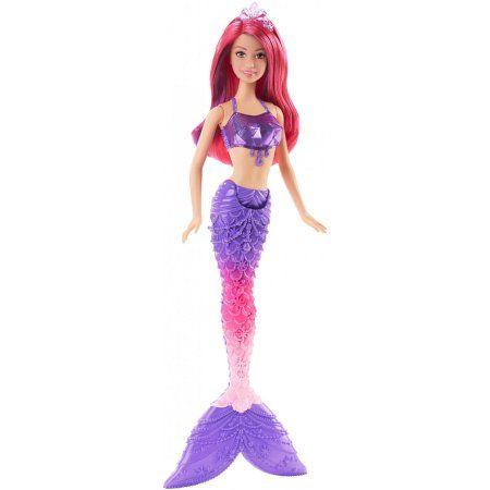 Barbie Mermaid Gem Fashion Doll, Multicolor
