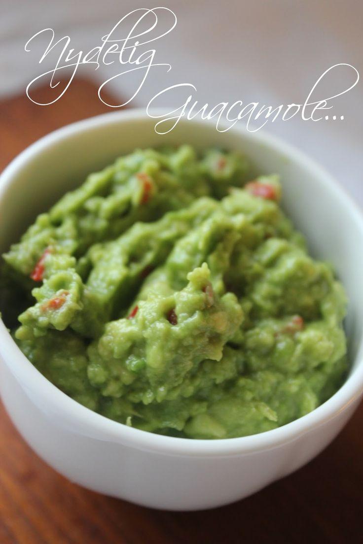 Hjemmelaget Guacamole...