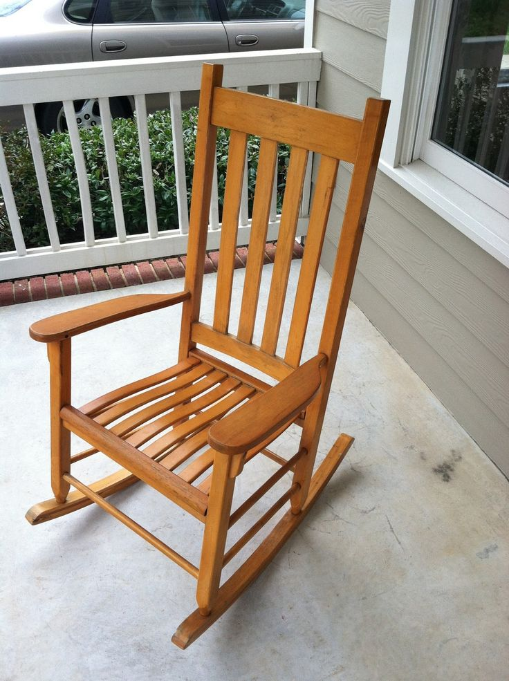 Rocker Refresh Wooden rocking chairs, Wooden rocker