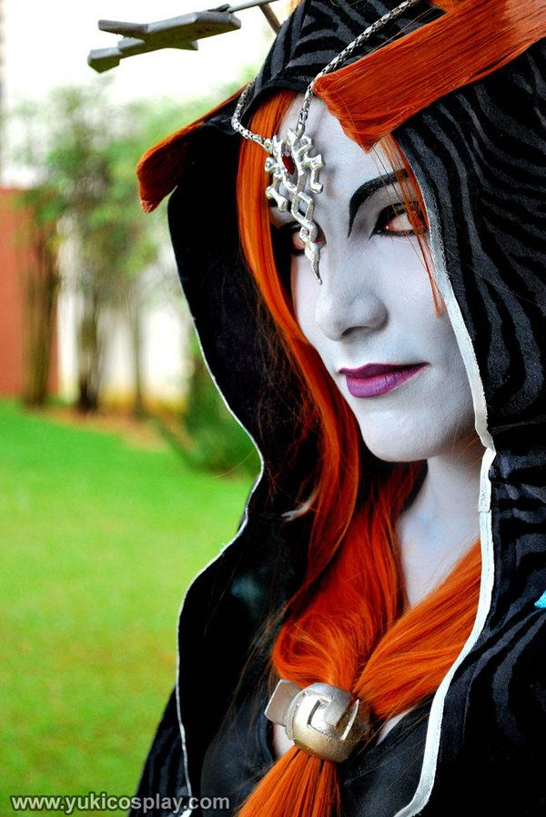 Victorian Style Princess Midna Cosplay