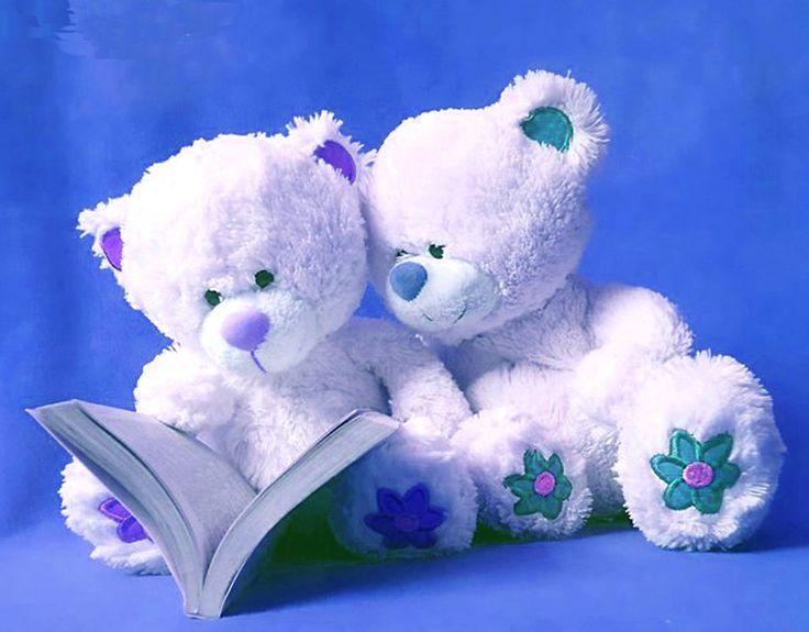 Cute friendship blue teddy bears cute love teddy bear free download hd wallpapers for desktop1 - Love doll hd wallpaper download ...
