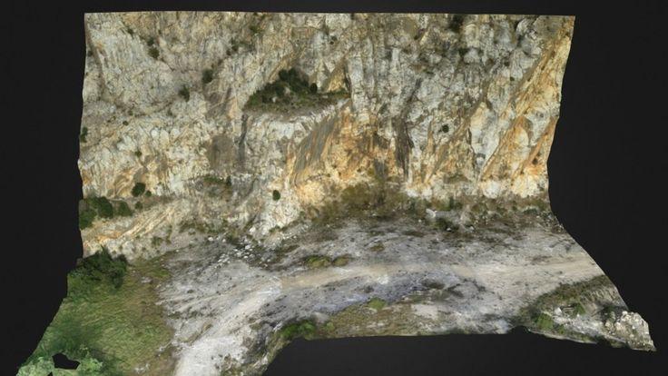 Modello 3D interattivo di una cava dismessa