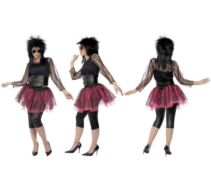 #Disfraz Icono #Pop de los #Años80 para #Mujer. #disfrazzes #disfraces