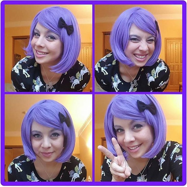 @sassicandiandi Cute as a button is Lush Wigs - Violet  #lushwigs #wig #lushwigsviolet www.lushwigs.com Available now reduced to 19.99 x #wigs #lushwig