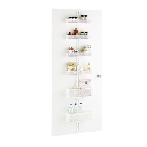 Elfa Utility White Mesh Pantry Door Wall Rack: Best 25+ Pantry Door Rack Ideas On Pinterest
