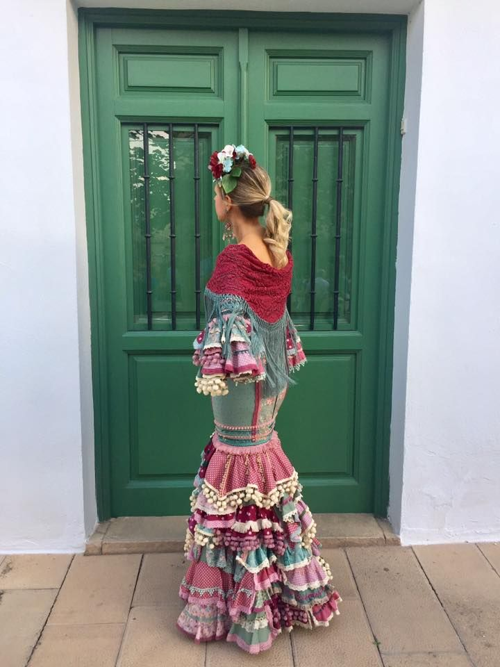 Maricastaña Vestidos De Sevillanas Moda Para Niñas Vestidos De Flamenca