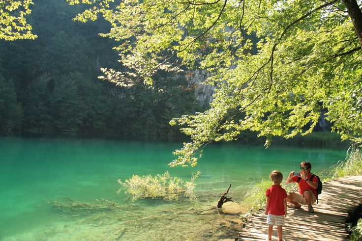 Croacia con niños. Parque Nacional de Plitvice. Imprescindible.