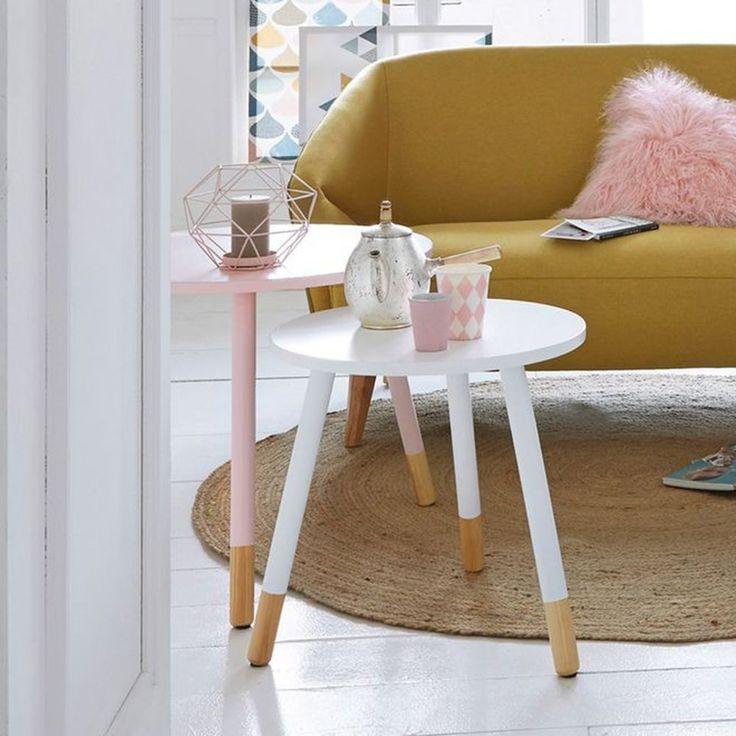 Les 25 meilleures id es de la cat gorie table basse style - Decoration epuree salon ...