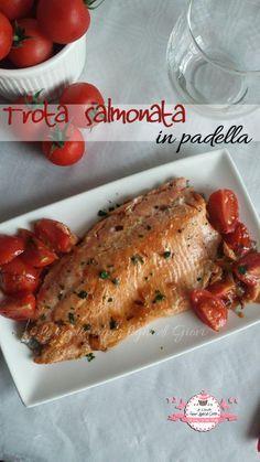Trota salmonata in padella (350 calorie) | Le ricette super light di Giovi