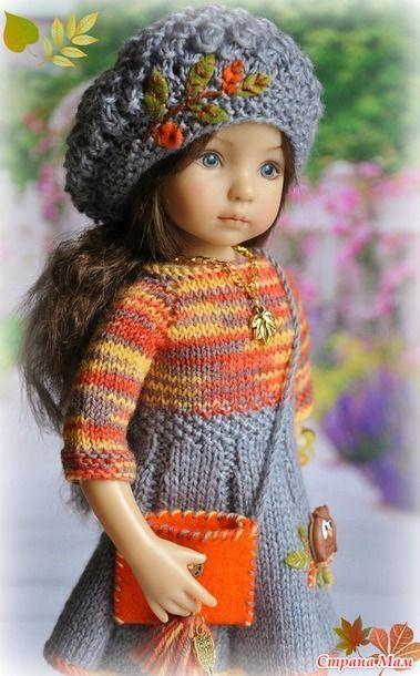 Осенняя пора очей очарованье... - Гардероб для куклы - Страна Мам
