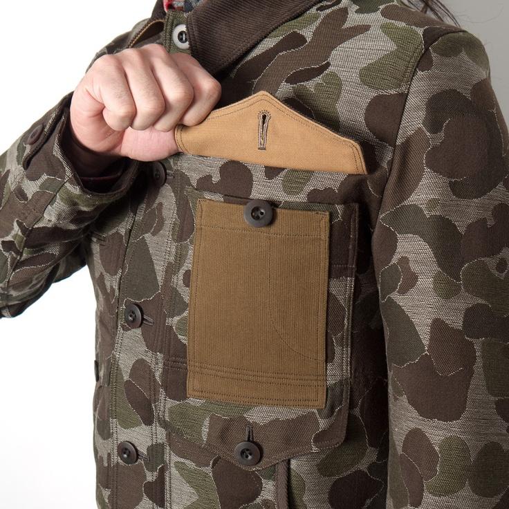 Junya Watanabe MAN - Camouflage Jacquard Hunting Coat