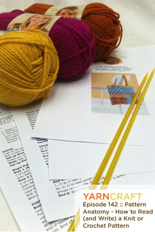 How To Understand A Knitting Pattern : 21 best Writting knitting pattterns images on Pinterest