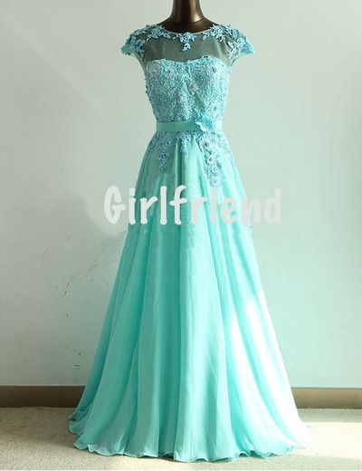 Possible Elsa dress?  Sweetheart green lace hand-made wedding dress / prom dress
