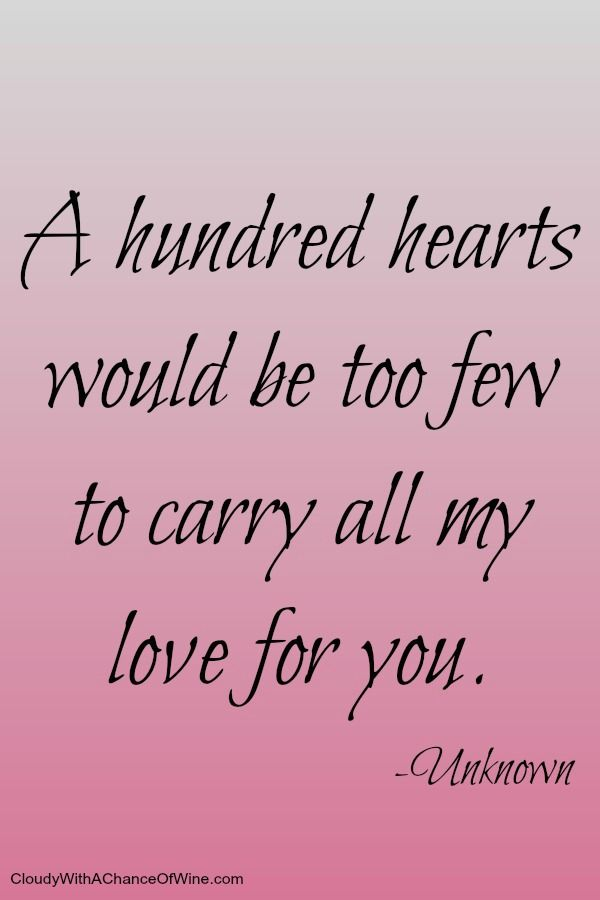 25 Love Quotes. Valentines Day Quotes For HerValentine ...