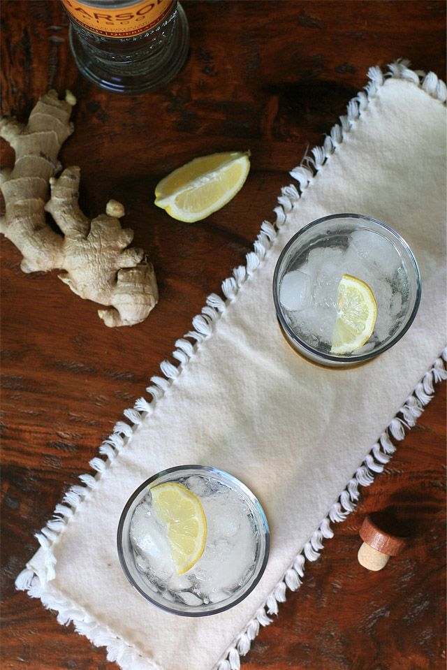 Chilcano de Pisco: Pisco, ginger ale, lemon, and bitters.