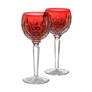 waterford crystal colored wine glasses wineglasses stemware - Waterford Crystal Wine Glasses
