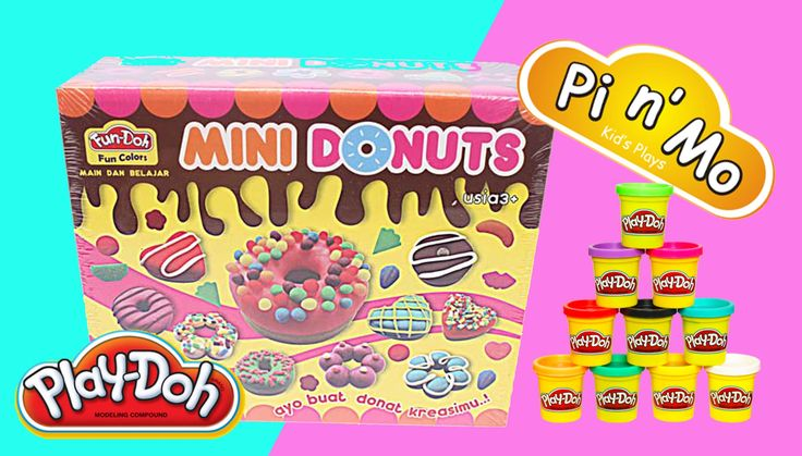 Pi n' Mo: How To Make Play Doh Donuts With A Set Of Mini Donuts Fun Doh  #kids toys #kids toys channel #kids toys play doh #kids activity videos #kids activity games #kids video #kids activity #play doh donut #play doh donuts hello kitty #play doh donut maker #play doh donut set #play doh donut shop #how to make play doh donuts
