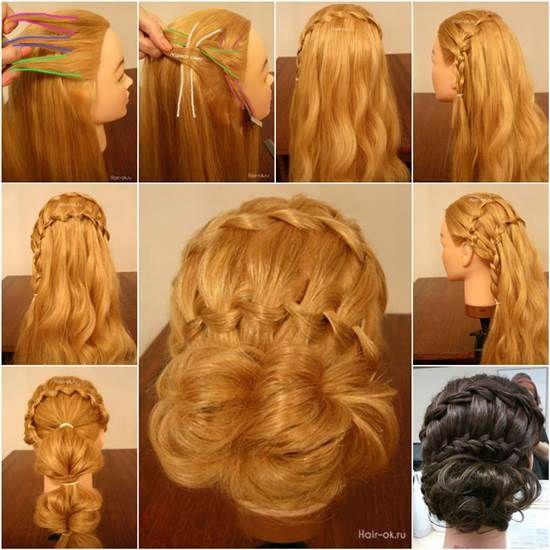 Strange 1000 Ideas About Double Waterfall Braids On Pinterest Waterfall Short Hairstyles For Black Women Fulllsitofus