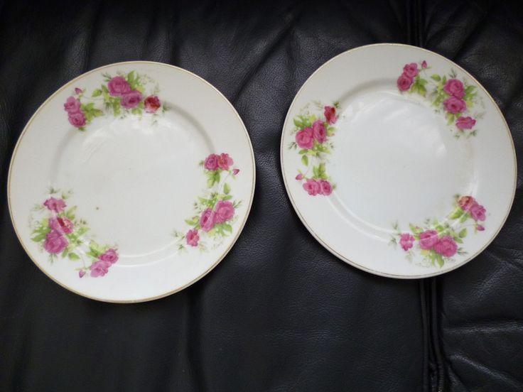 Platos en porcelana