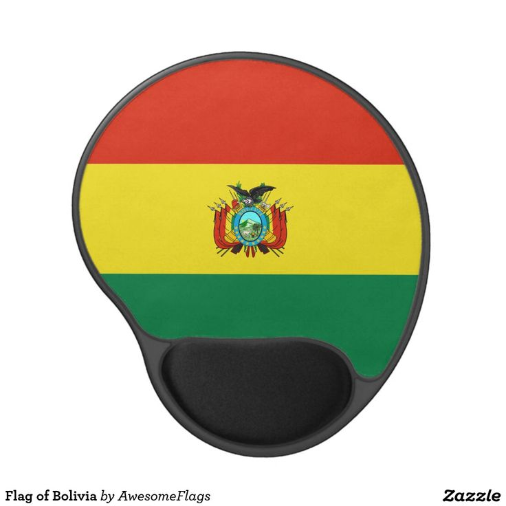 Flag of Bolivia Gel Mouse Pad