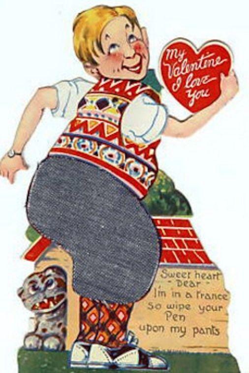 182 best Vintage Valentines  Weird images on Pinterest  Vintage
