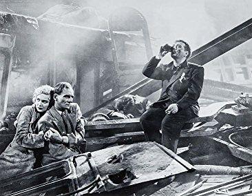 John Gielgud, Peter Lorre, and Madeleine Carroll in Secret Agent (1936)