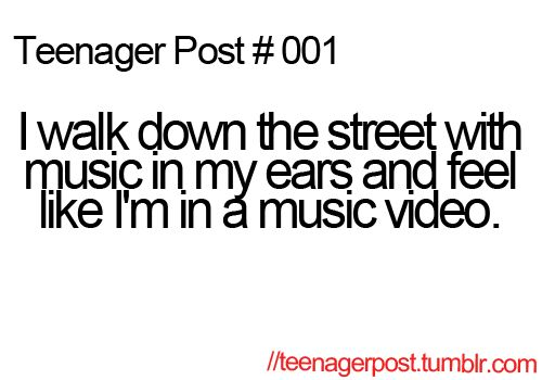 Haha! Found the first teenager post ever made! :)