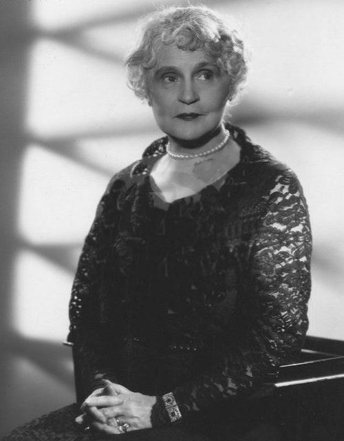 """HENRIETTA CROSMAN (1861-1944) was an American stage and film actress. She was born in Wheeling, WV, to George Crosman Jr., a Civil War Major, and Mary B. Wick, a niece of composer Stephen Foster. She got her start in 1883 at the Windsor Theatre, NY. in """"The White Slave."""" By 1900 after several plays, she was a star. She signed w Adolf Zukor's Famous Players in 1914. Then w Universal from 1915-1937. She gave a great performance in Pilgrimage (1933). She married 2x; had 2 sons."""
