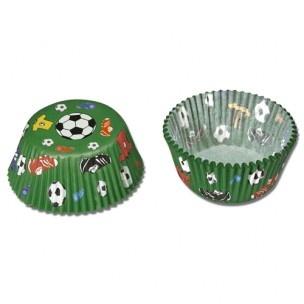 Voetbal baking cups van Städter.