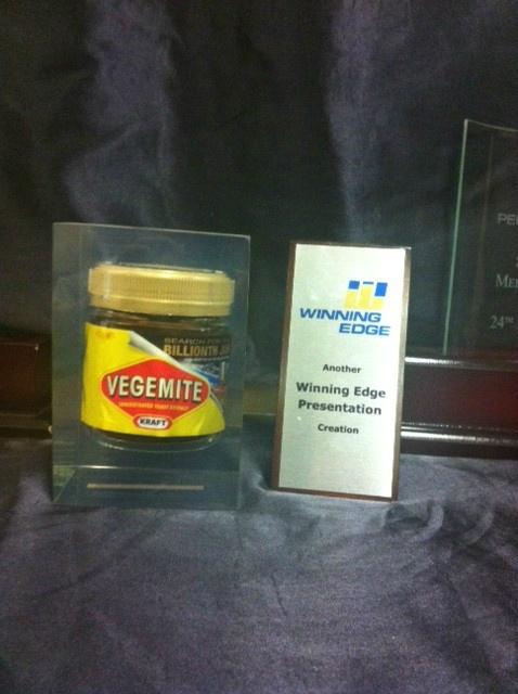 @WinningEdgeTeam 1 Billionth jar of #Vegemite