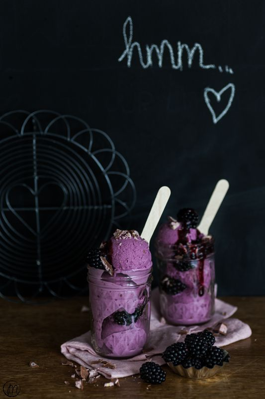 Brombeer-Frozen Joghurt ⋆ Marylicious Marylicious