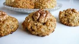 Bulgarian Orehovki- Little Pecan Cookies