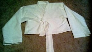 hanbok jacket mock up