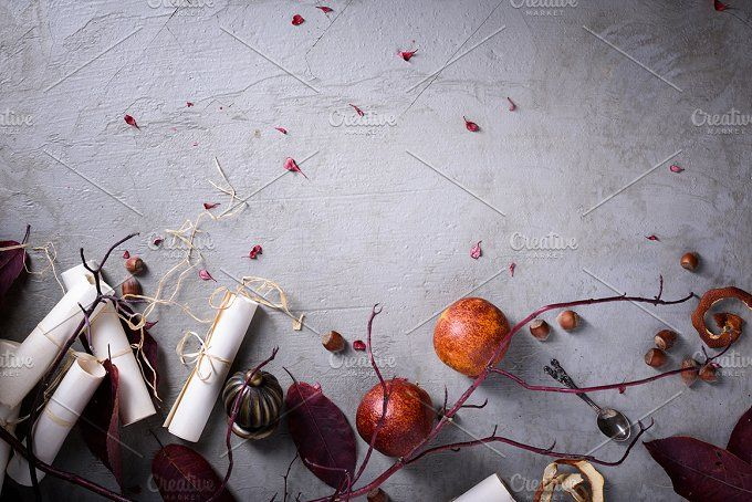 Romantic invitation or love letter by Iuliia Leonova on @creativemarket